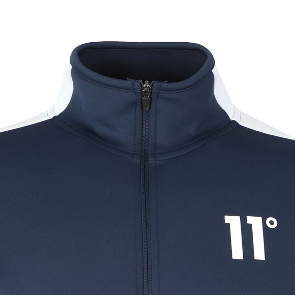 Eleven Degrees Mens Blue Poly Panel Track Top main image