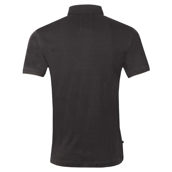 Luke 1977 Mens Black Gentry Knitted Collar Polo main image