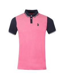 Luke Mens Pink Steve The Bouncer Polo