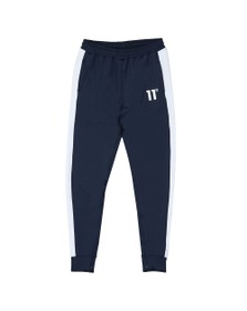Eleven Degrees Mens Blue Poly Panel Track Pant
