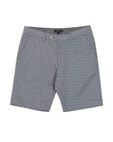 Ted Baker Mens Grey Cross Embroidery Short