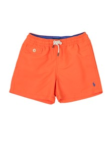 Polo Ralph Lauren Boys Orange Traveller Swim Short