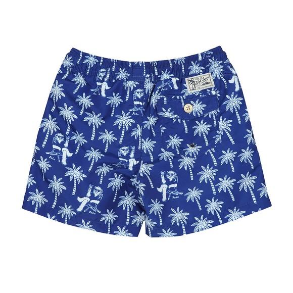Polo Ralph Lauren Boys Blue Traveller Bear Swim Short