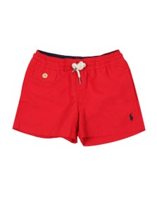 Polo Ralph Lauren Boys Red Boys Traveller Swim Short