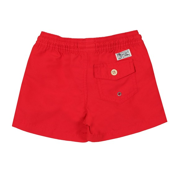 Polo Ralph Lauren Boys Red Boys Traveller Swim Short main image