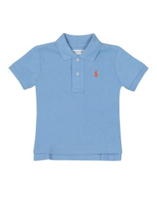 Polo Ralph Lauren Boys Blue Baby Plain Polo Shirt