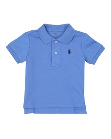 Polo Ralph Lauren Boys Blue Baby Jersey Polo Shirt