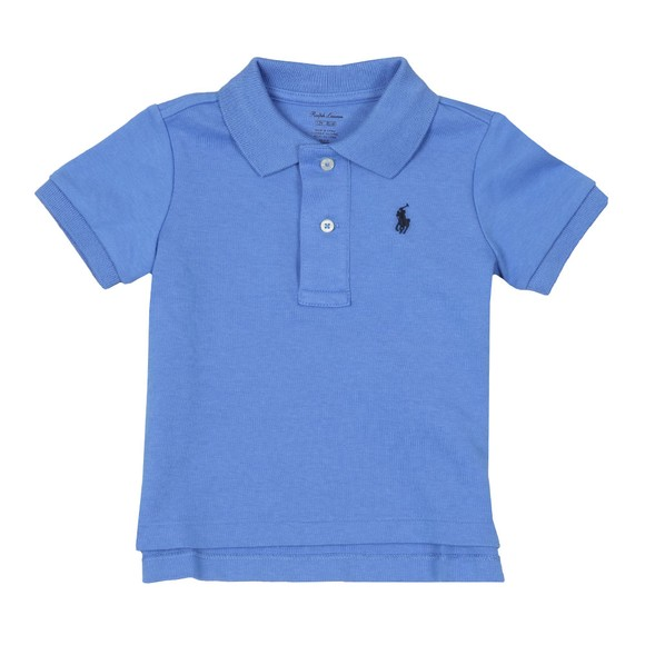 Polo Ralph Lauren Boys Blue Baby Jersey Polo Shirt main image