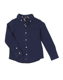 Polo Ralph Lauren Boys Blue Boys Long Sleeve Jersey Shirt