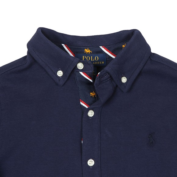 Polo Ralph Lauren Boys Blue Boys Long Sleeve Jersey Shirt main image