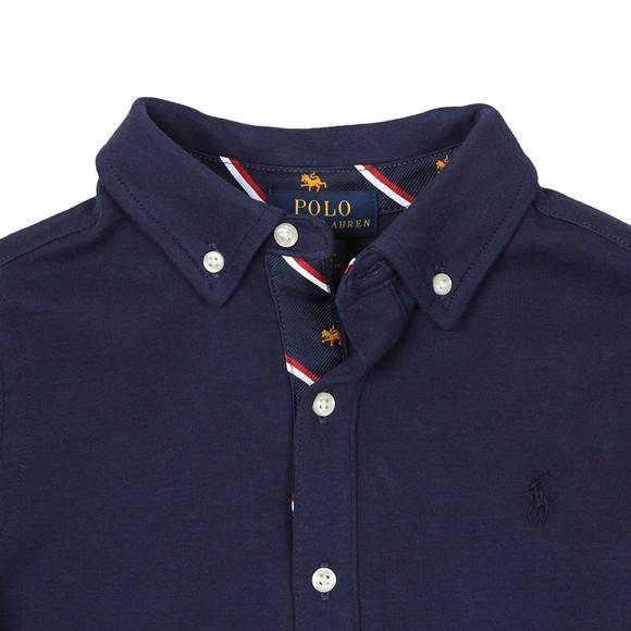Polo Ralph Lauren Boys Blue Boys Long Sleeve Jersey Shirt