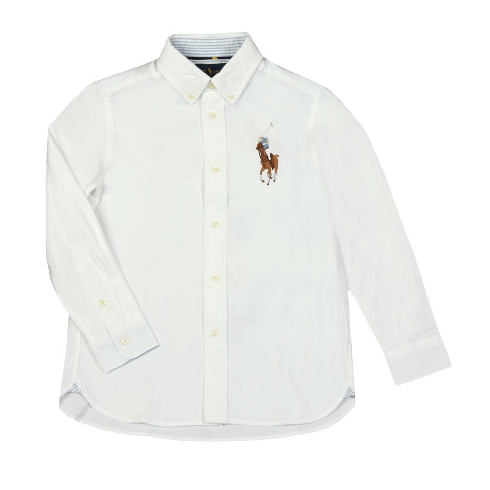Big Polo Player Oxford Shirt main image