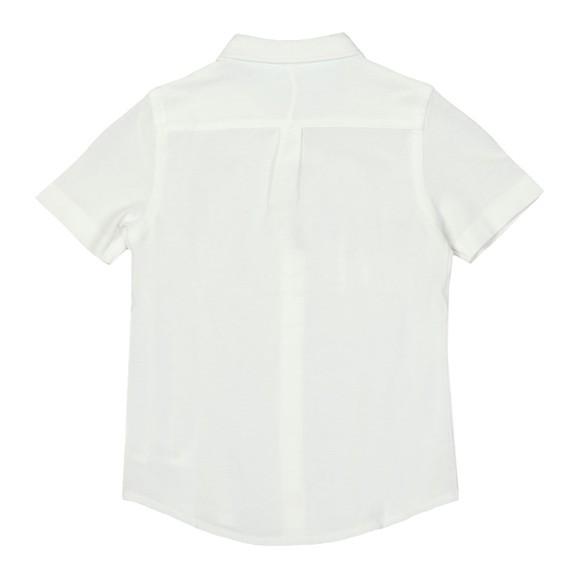 Polo Ralph Lauren Boys White Short Sleeve Pique Shirt main image