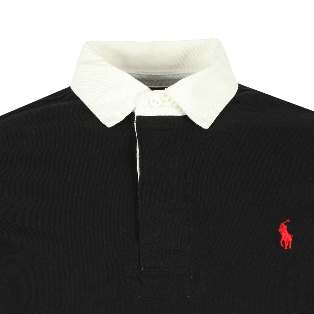 The Iconic Mens Shirt Black Rugby 76Ygybfv
