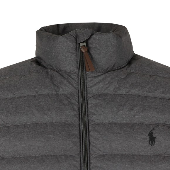 Polo Ralph Lauren Mens Grey Bleeker Down Vest main image