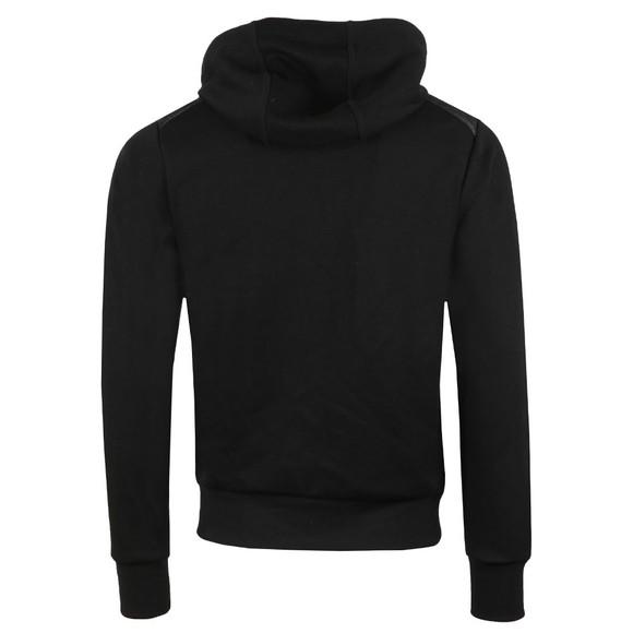 Polo Ralph Lauren Mens Black Hybrid Hooded Puffer main image