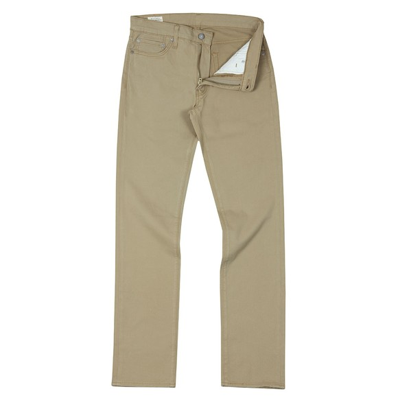 Levi's Mens Beige 511 Slim Fit Jean main image