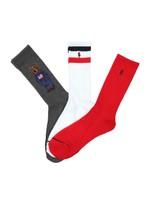 3 Pack Sport Bear Sock