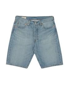 Levi's Mens Blue 501 Hemmed Short