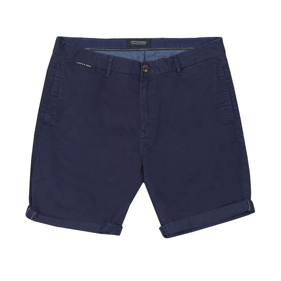 Scotch & Soda Mens Blue Stretch Chino Short main image