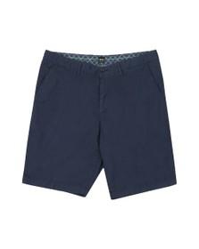 BOSS Mens Blue Athleisure Bright Chino Short