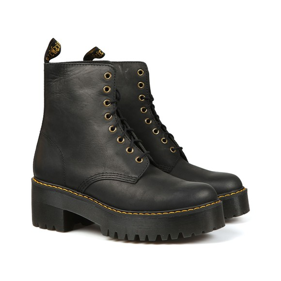 Dr. Martens Womens Black Shriver Hi Boot