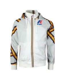 K-Way Mens White Remix Dale Graphic Jacket