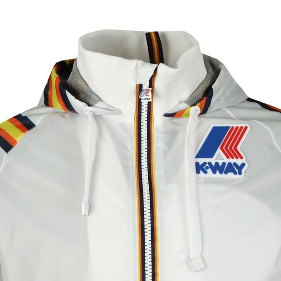 K-Way Mens White Remix Dale Graphic Jacket main image