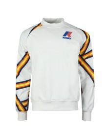 K-Way Mens White Remix Floyd Graphic Sweatshirt