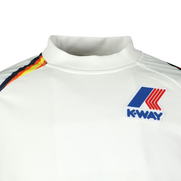 K-Way Mens White Remix Floyd Graphic Sweatshirt main image