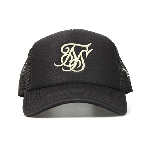Sik Silk Mens Black Trucker Cap main image