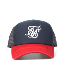 Sik Silk Mens Red Trucker Cap