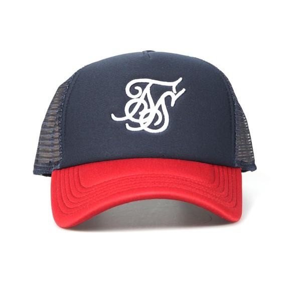 Sik Silk Mens Red Trucker Cap