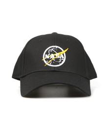 Alpha Industries Mens Black NASA Cap