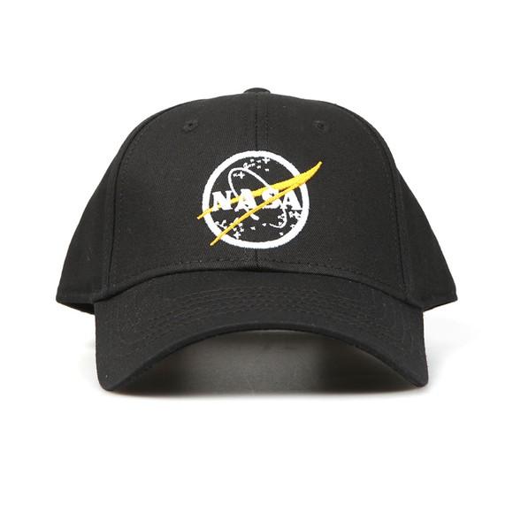 Alpha Industries Mens Black NASA Cap main image