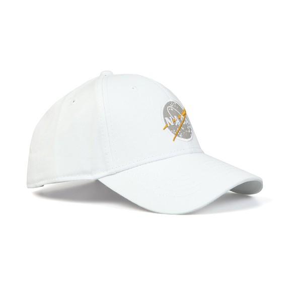 Alpha Industries Mens White NASA Cap main image