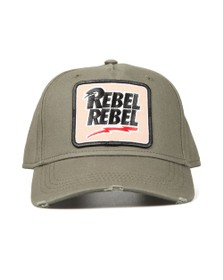 Lucky Seven Mens Grey David Bowie Rebel Rebel Cap