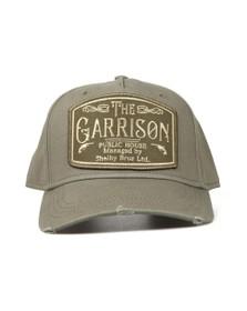 Lucky Seven Mens Green Garrison Cap