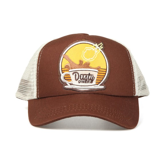 Lucky Seven Boys Brown Fortnite Dusty Diner Cap main image