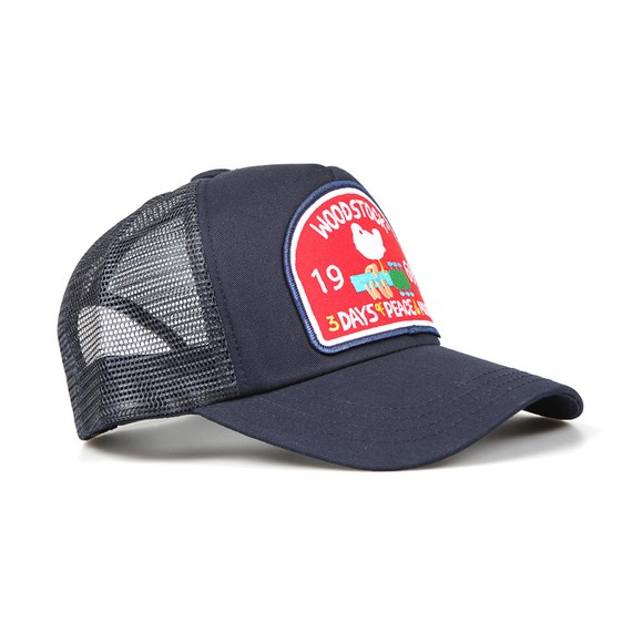Lucky Seven Mens Blue Woodstock Cap main image