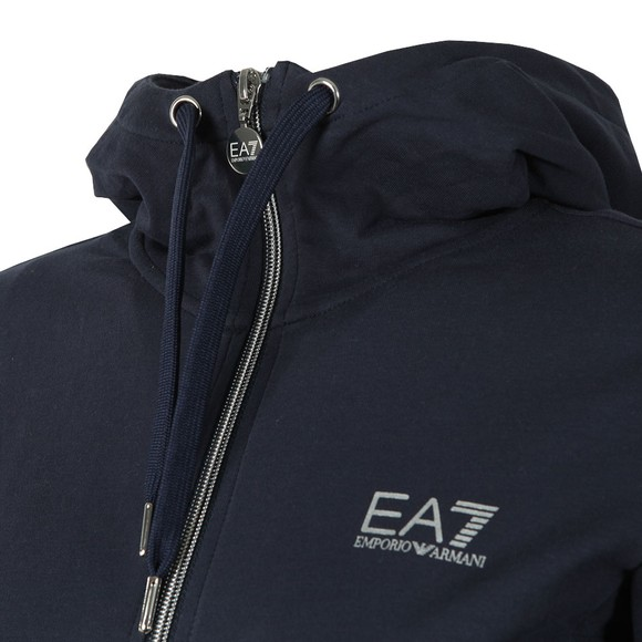 EA7 Emporio Armani Womens Blue Small Logo Tracksuit main image
