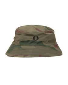 Fred Perry X Arktis Mens Green Bush Hat