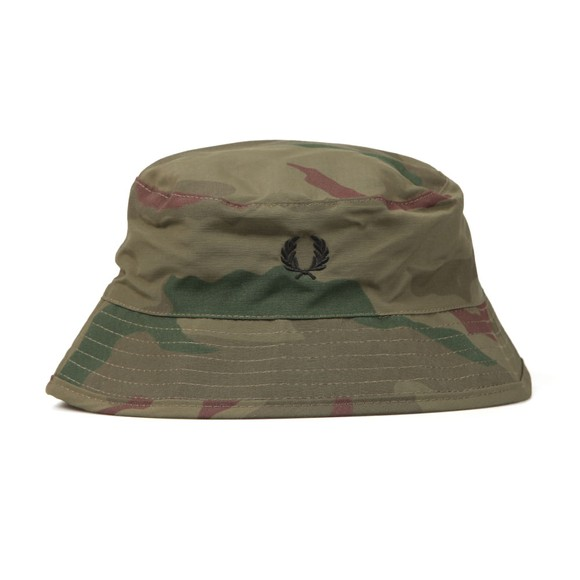 Fred Perry X Arktis Mens Green Bush Hat main image