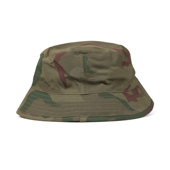 94b16532 Fred Perry X Arktis Mens Green Bush Hat main image