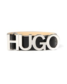 HUGO Mens Black Zula Belt
