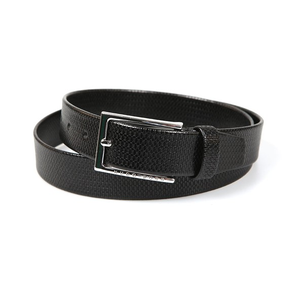 BOSS Mens Black Cedys Belt main image