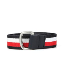 Tommy Hilfiger Mens Blue Webbing Belt