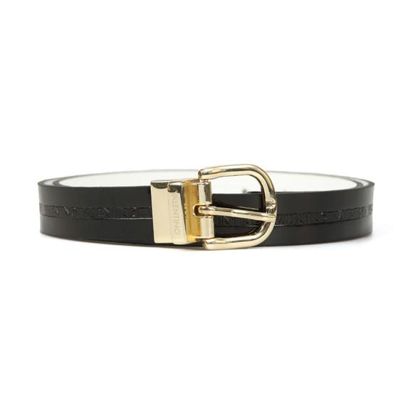 Valentino by Mario Womens Black Emma Belt