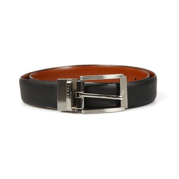 Ted Baker Mens Black Leather Reversible Belt main image