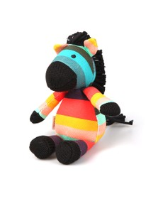 Paul Smith Junior Boys Multicoloured Baby Zebra Soft Toy